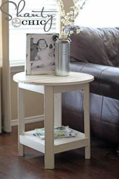 Round End Table Project
