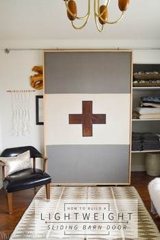 Lightweight Barn Door Plans
