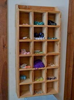 Cedar Cubby Shelf Plans