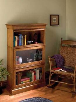 Barrister Bookcase Plans