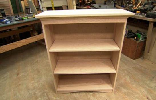 Freestanding Bookcase