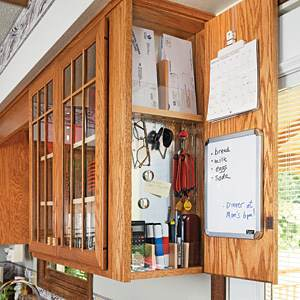 Message Board in Cabinet