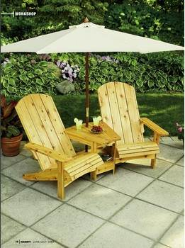 Adirondack Chairs for Two