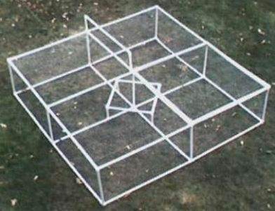 Simple PVC Chicken Coop Plans