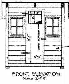 Poultry House Plans