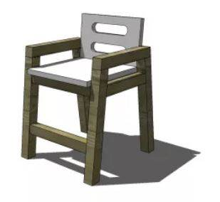 Two-Tone Chair