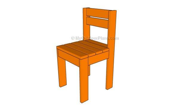 Simple Kid's Chair