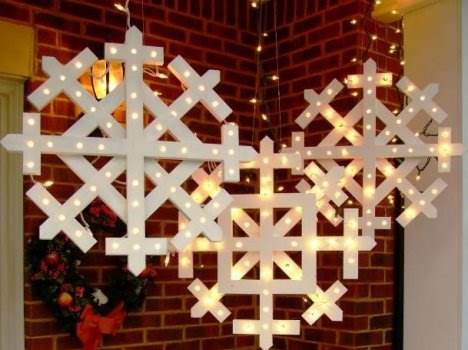 Snowflakes with Lights