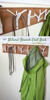 Branch Coat Rack Plans