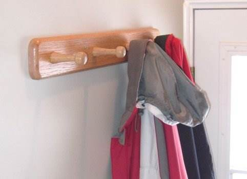 Custom Coat Rack Project