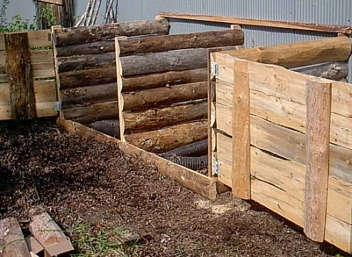 Large Compost Bin Plans