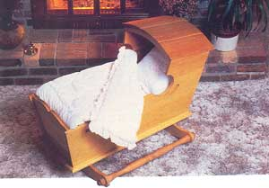 Old World Baby Cradle