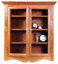 Four Shelf Curio Cabinet