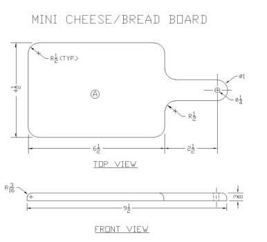 Cheese Board Plans
