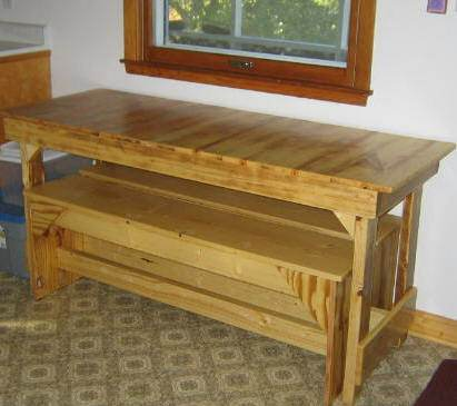 Dining Table Plans - Kitchen Table Plans