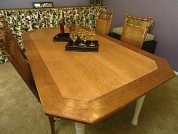 A Octagon Dining Table
