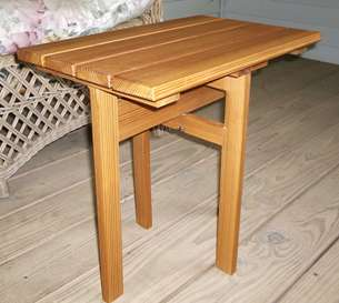 A Small Folding Table
