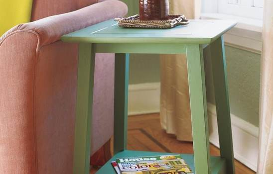 Arts & Craft Side Table
