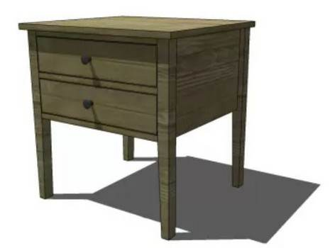 Unique End Table Plans