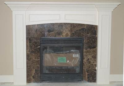 A Fireplace Mantel