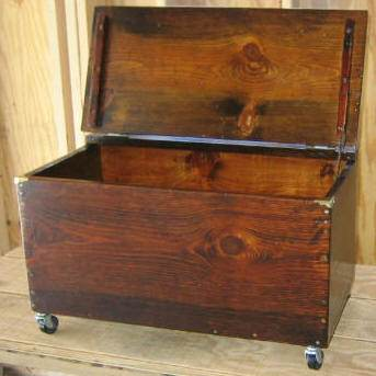 Firewood Storage Box