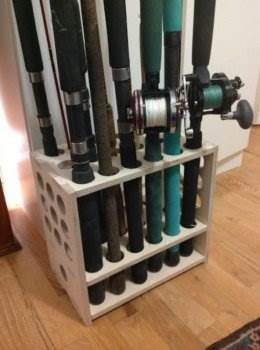 Fishing Rod Rack Plans, Fishing Rod Holder Plans