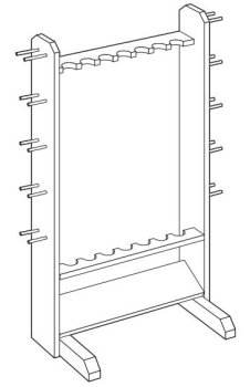 Fishing Rod Holder Plans