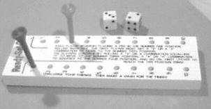 Two Player  Peg Game