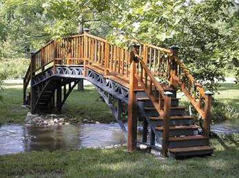 Graceful Footbridge