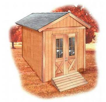 A 12 x 8 Shed