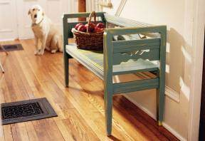 Rustic Mudroom Bench Plans