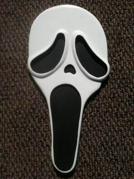 Screaming Ghost Face