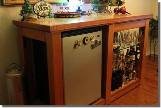 Free Bar Plans, Home Bar Plans - FreeWW.com