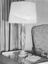 2-Toned   Table Lamp