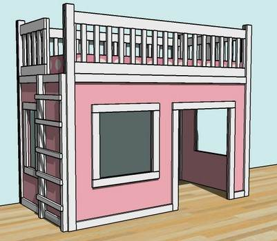 Bed Playhouse