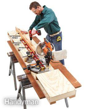 Miter Saw Table Project