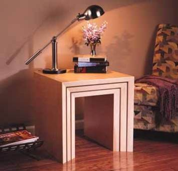 Nesting Table Project