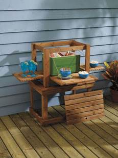 Outdoor Nesting Tables Plan