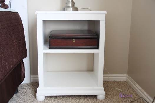 Child's Bedside Shelf Table
