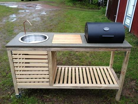 Portable Outdoor Kitchen