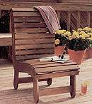 Outdoor Deck Chair