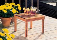 Easy-to-Make Patio Tables