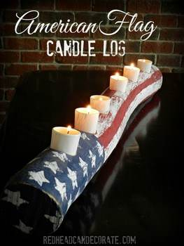 Easy Candle Log