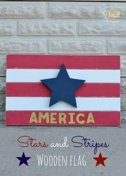 Stars and Stripes Wall Art