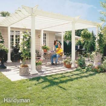 Step by Step Pergola Project