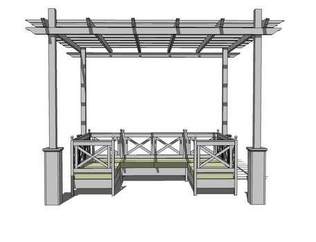 Strong and Sturdy Pergola