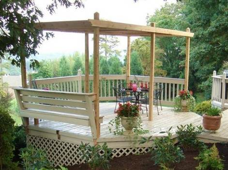 Adjustable Pergola