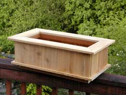 Planter Box with Lattice