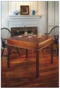 Draw-Leaf Game Table