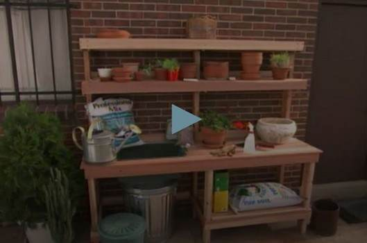 Design and Create a Potting Bench